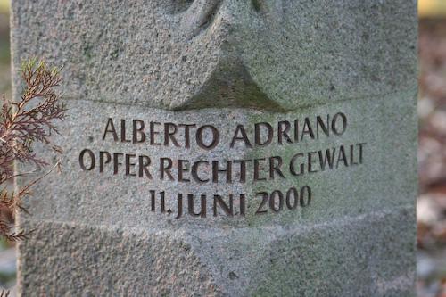 Alberto-Adriano-Gedenkstein