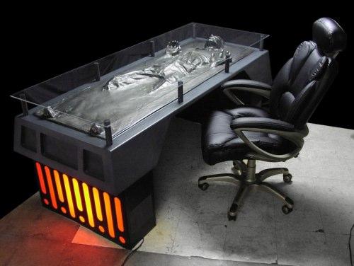 Han Solo Schreibtisch