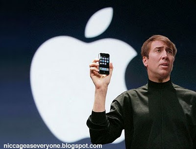 Nic Cage as Steve Jobs