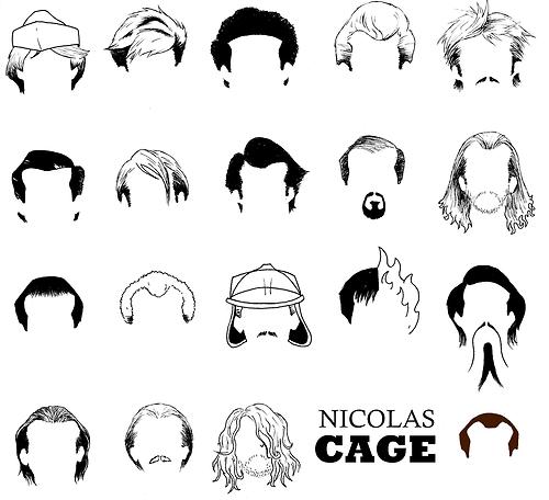 Nicolas Cage Haare
